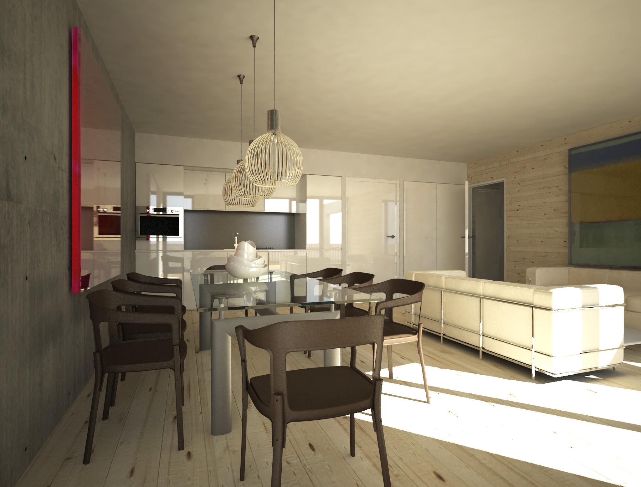 Chalet a appartement n 03 t2 3 lot a 203 niveau for Garage ad aurillac